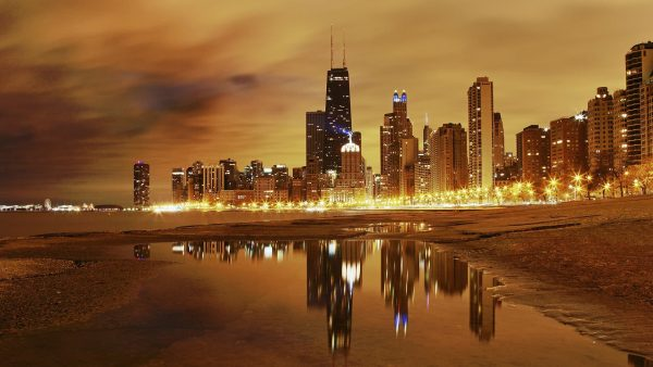 chicago skyline wallpaper1