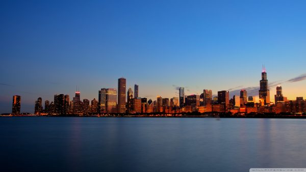 chicago latar langit wallpaper10