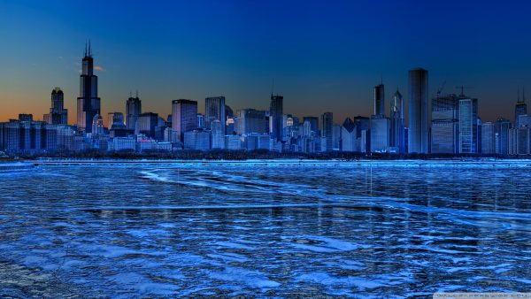 chicago skyline wallpaper2