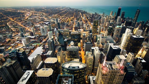 chicago skyline wallpaper4