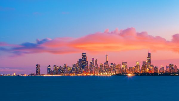chicago latar langit wallpaper5
