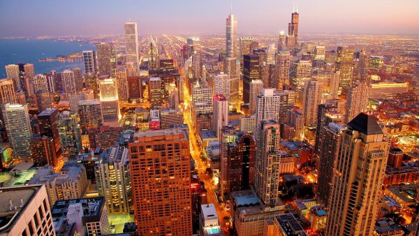 chicago skyline wallpaper6