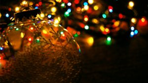 kerstverlichting wallpaper HD