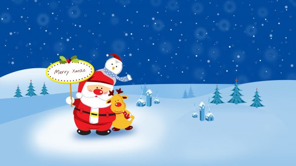 cute christmas kertas dinding HD2