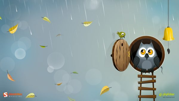mignon hibou wallpaper2