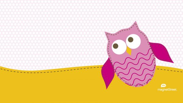 mignon hibou wallpaper7