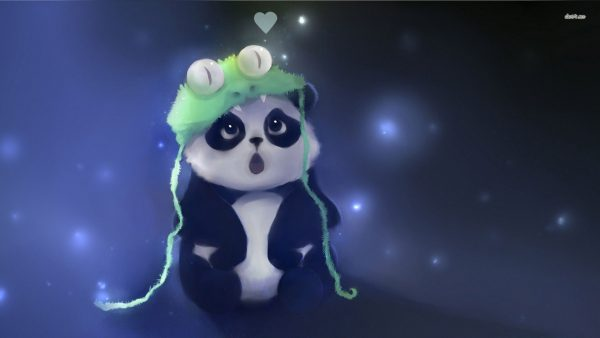 cute panda wallpaper HD1