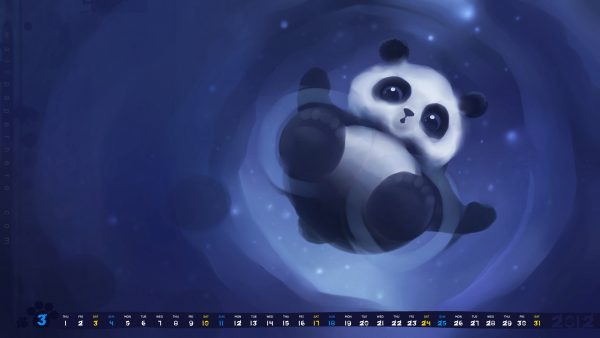 cute panda wallpaper HD6