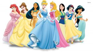 Disney Princess tapetti