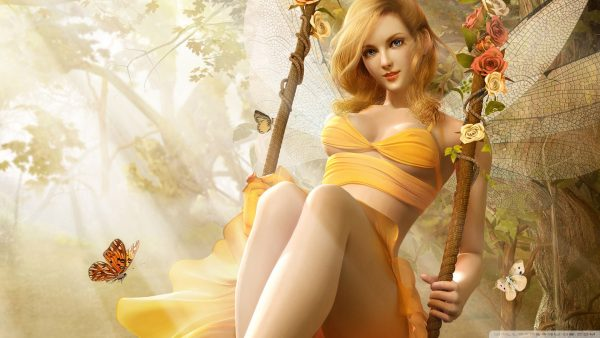 fantasy girl wallpaper HD3