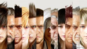 final Fantasy 15 HD tapet