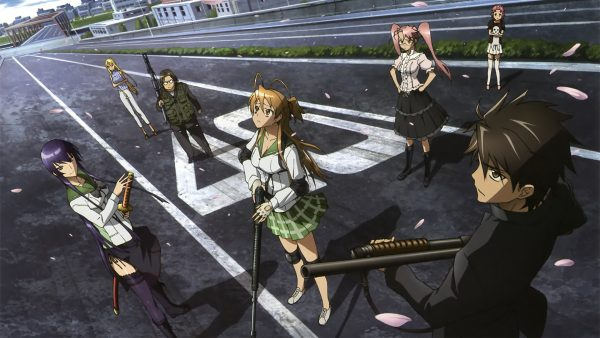 highschool of the dead wallpaper HD10