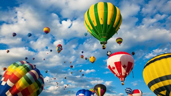hot air balloon wallpaper HD1