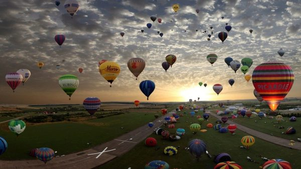hot air balloon wallpaper HD4