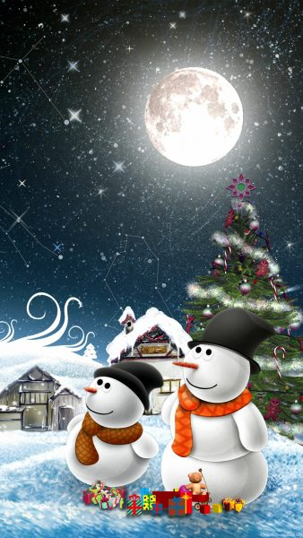 iphone christmas wallpaper HD10