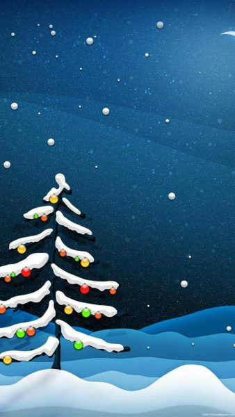 iphone christmas wallpaper HD2