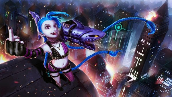 jinx wallpaper HD1