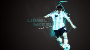 Lionel Messi behang