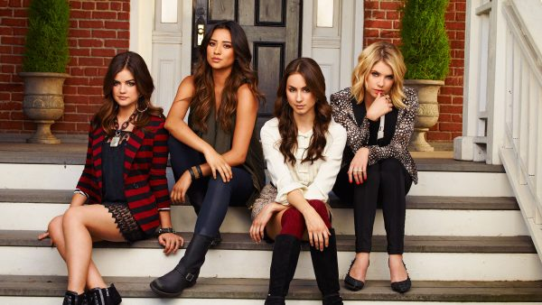 "PRETTY LITTLE LIARS - ABC Family's ""Pretty Little Liars"" stars Lucy Hale as Aria Montgomery, Shay Mitchell as Emily Fields, Troian Bellisario as Spencer Hastings and Ashley Benson as Hanna Marin. (ABC FAMILY/ANDREW ECCLES)"