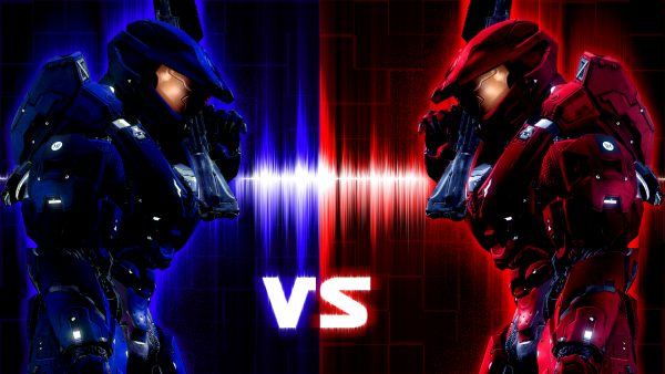 red vs blue wallpaper9