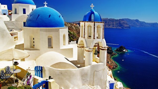 santorini wallpaper HD2