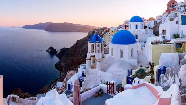 santorini wallpaper HD3