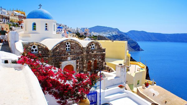 santorini wallpaper HD4