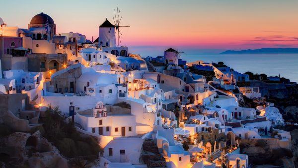 santorini wallpaper HD5