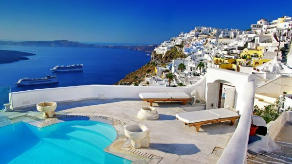 santorini wallpaper HD7