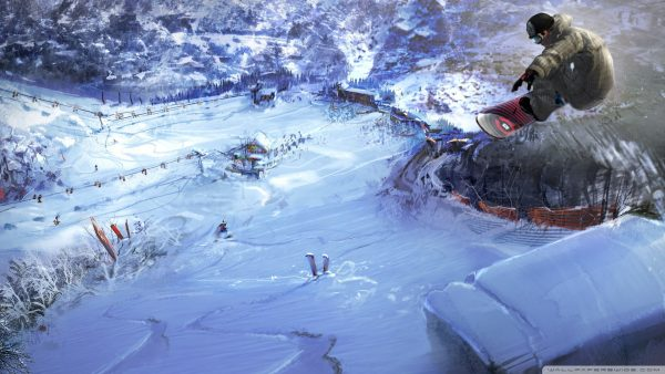 snowboarding wallpaper HD4