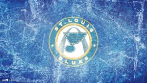 st louis blues kertas dinding