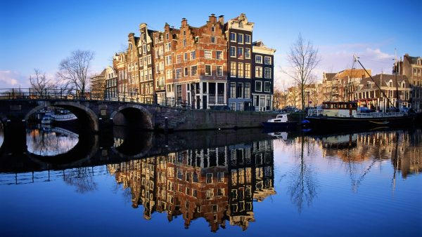 Amsterdam City Taustakuva - Wallpaperen.com