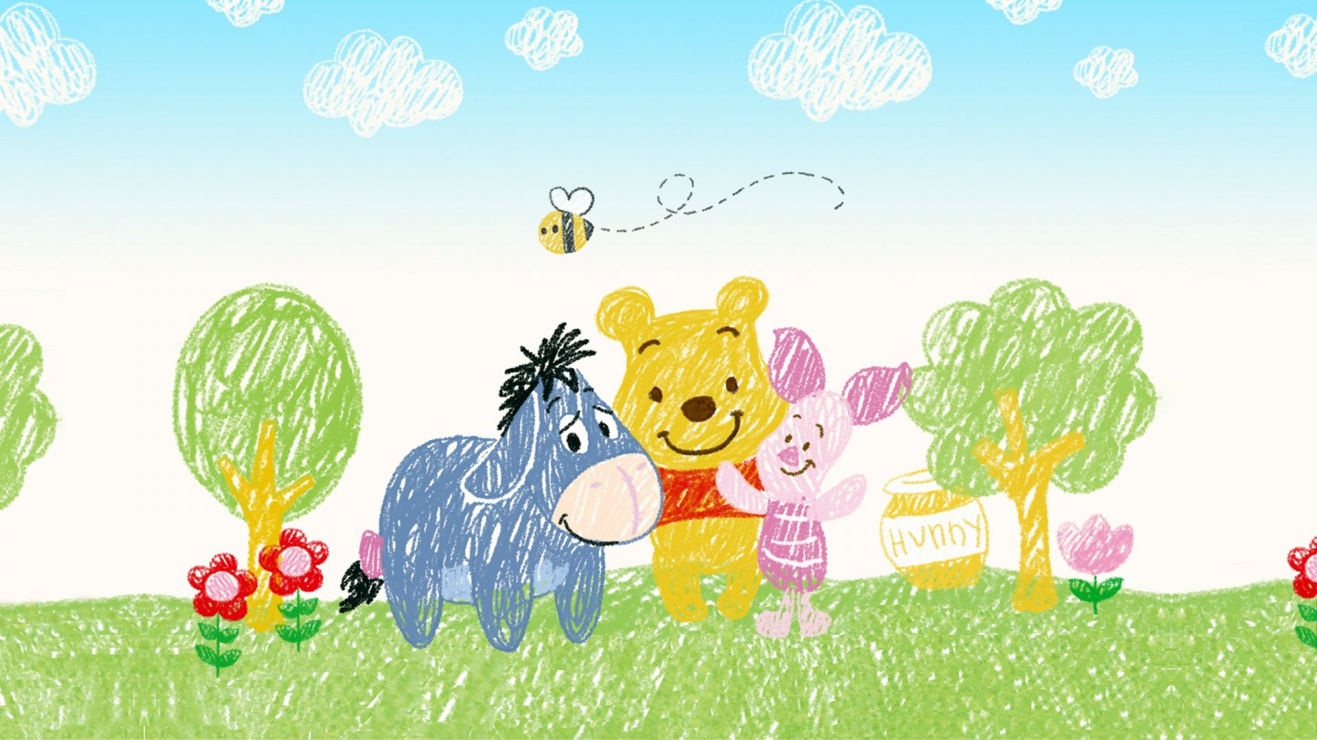 Winnie the pooh wallpaper hd 10 winnie the pooh wallpaper hd10 600x338 voltagebd Image collections