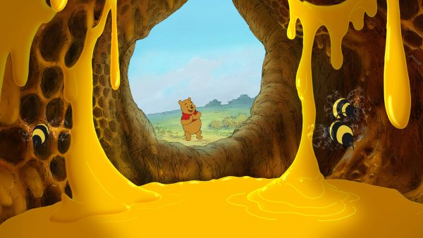 """WINNIE THE POOH"" Winnie The Pooh (C)Disney Enterprises, Inc. All rights reserved."
