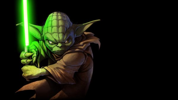 yoda tapetti HD4