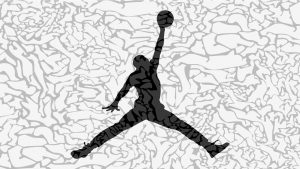 Air Jordan logo taustakuva HD