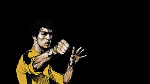 bruce lee iphone kertas dinding HD