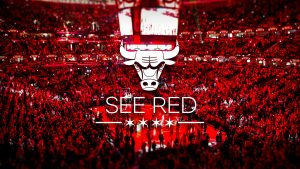 Chicago Bulls logo taustakuva HD