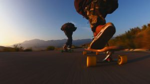 Longboardskaten wallpaper HD