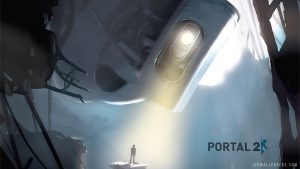 portaal 2 hd wallpaper