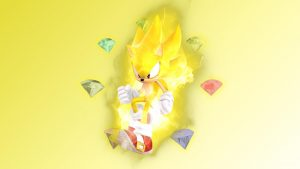 Super Sonic tapetti HD
