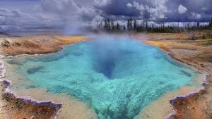 yellowstone kertas dinding HD