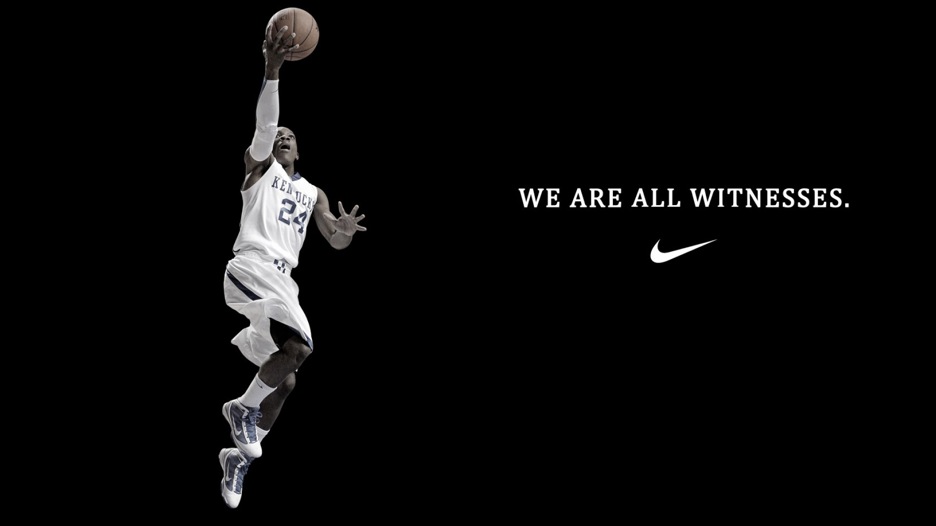 Basketball never stops wallpaper