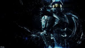 Master Chief tapet
