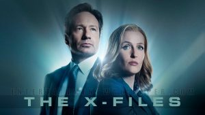 x files behang