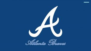 atlanta braves iphone Tapete