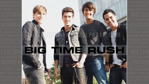 big time rush Tapete
