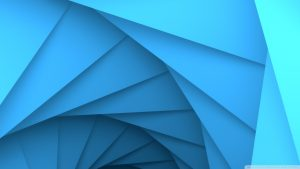 blue geometryske wallpaper