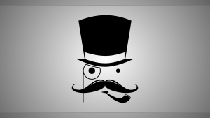 cute mustache wallpaper