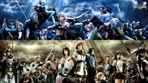 Final Fantasy hd tapetti